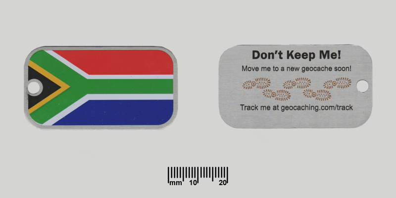 SA Flag Trackable
