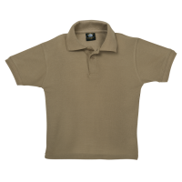 Mega 2018 Golf Shirt - Childrens 9-10 Khaki