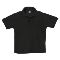 Mega 2018 Golf Shirt - Childrens 13-14 Black