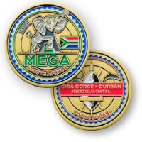 Mega 2014 Geocoin - Gold